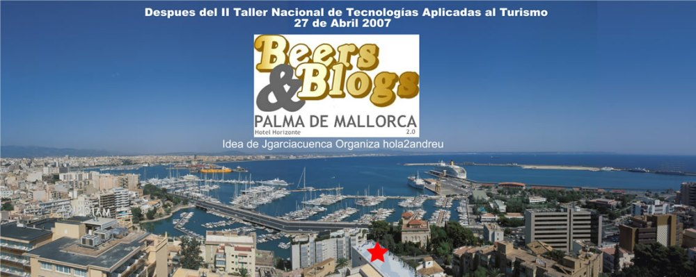 Beers and Blogs Palma de Mallorca - 27 de Abril - T-apuntas ? (1/2)