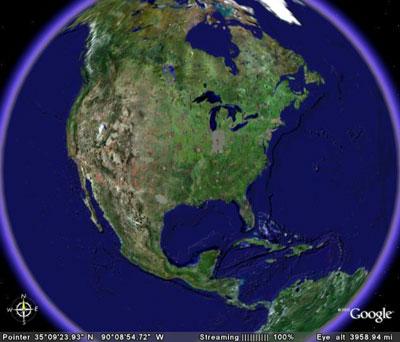 Google Earth incorporará la BANDA SONORA DE LA TIERRA